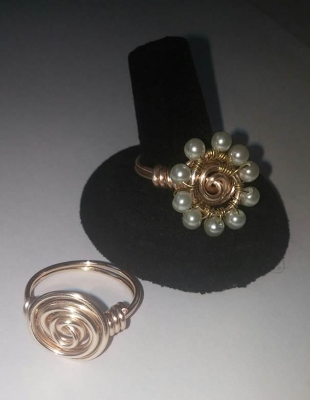 Spiral Rings 0713